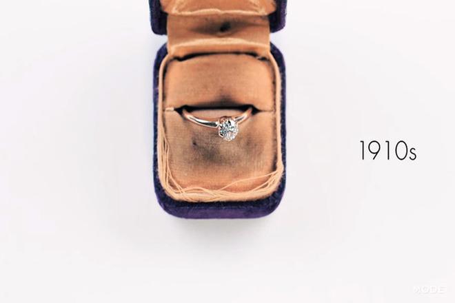 Як змінювалась мода на заручальні каблучки за 100 років? [ВІДЕО]