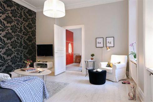 Уютная квартирка по-шведски (ФОТО)