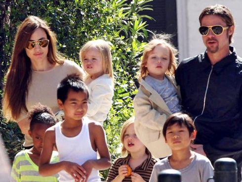 Принципи виховання дітей Анджеліни Джолі та Бреда Пітта