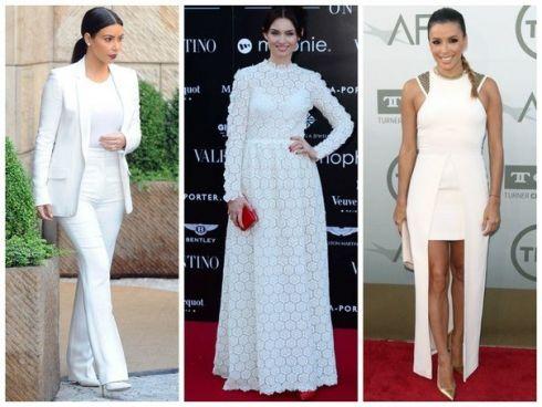 Лето 2014: Звездный тренд – белый цвет