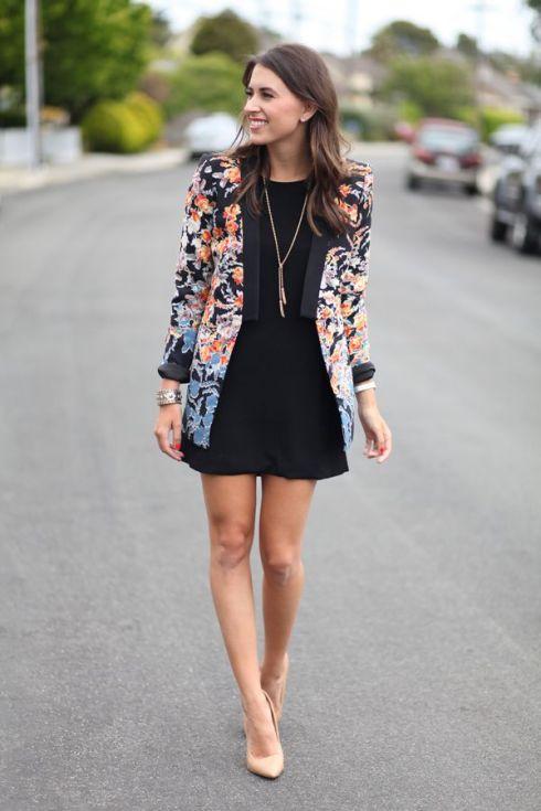 5 стильних способів носити маленьку чорну сукню