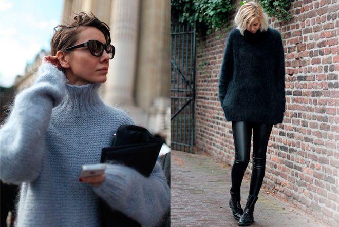 З чим носити светр: сукня, спідниця і штани (ФОТО)