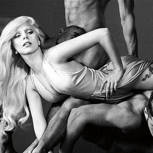 Леди Гага в рекламе своего аромата Eau de Gaga