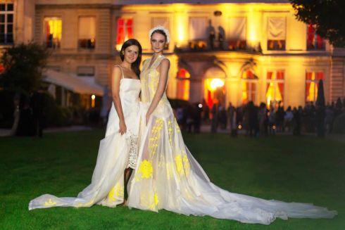Сукні українського дизайнера знову підкорили Париж