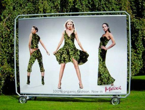 У моді екологічний одяг