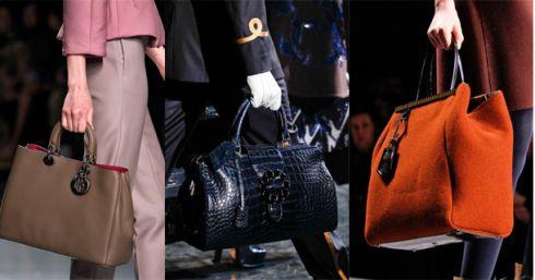 Модні сумки: осінь-зима 2014