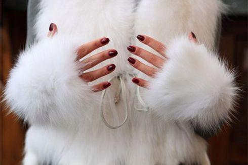 Хіт зими: хутряні рукавиці