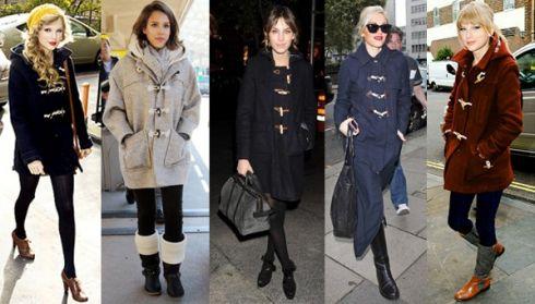 Новий тренд у моді на пальта - дафлкот
