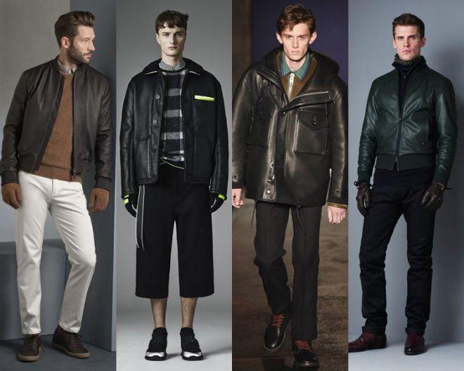 Чоловічі шкіряні куртки - це модно й стильно