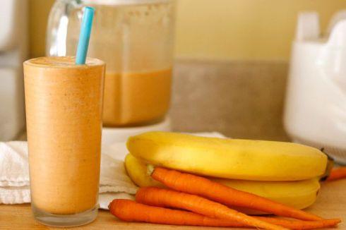 Морквяний смузі - кращий дієтичний сніданок