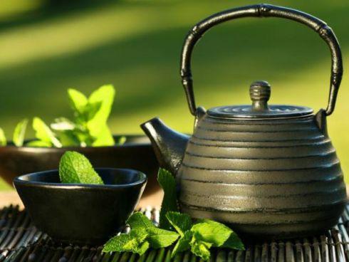 Зелений чай - втіха для очей