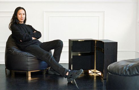 Олександр Ванг створив капсульну колекцію меблів