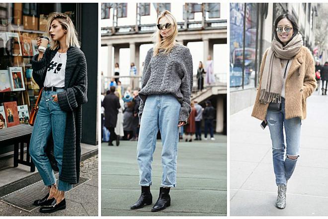 Стильний стріт-стайл: як носять джинси вуличні модниці?