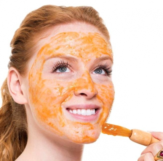 Маска з моркви для обличчя