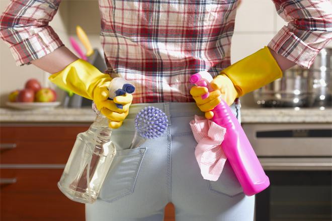 4 круті поради для швидкого прибирання