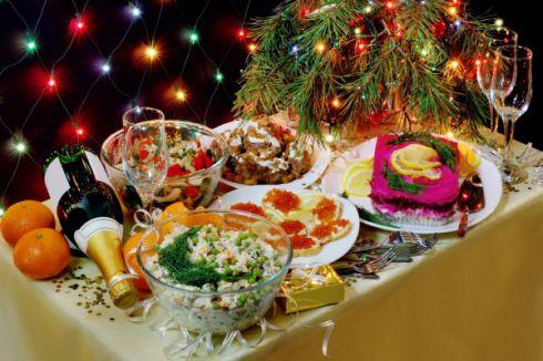 Легкі страви у новорічну ніч