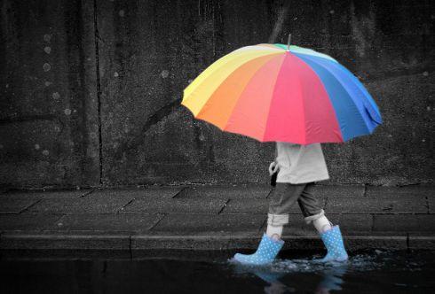 Как поднять себе настроение в дождливую погоду
