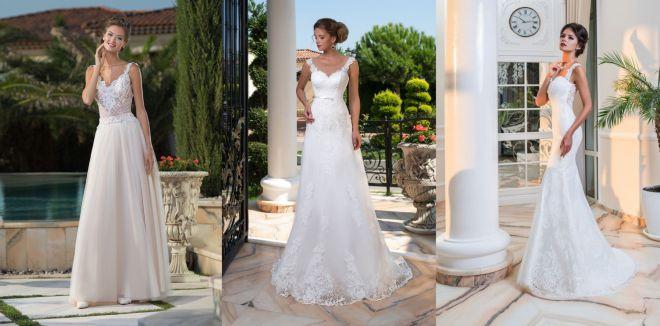 Свадебные платья - самые эффектные фасоны