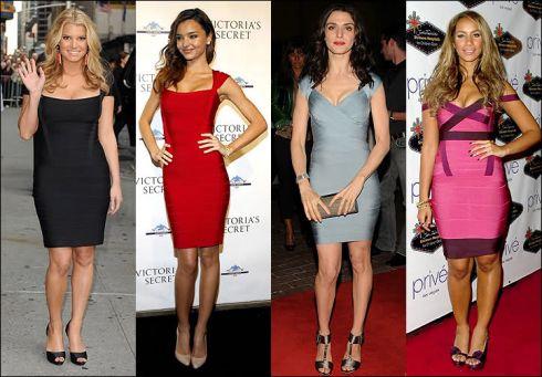 Зірковий тренд: бандажні сукні [ФОТО]