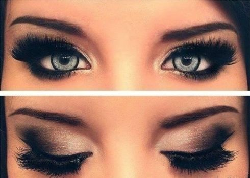 Smoky eyes под Ваш цвет глаз