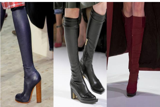 Модная обувь зимы 2017