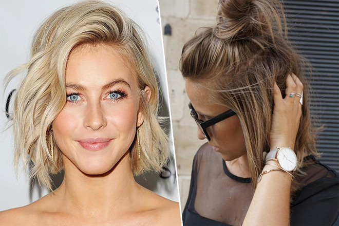 Як швидко укласти коротке волосся?