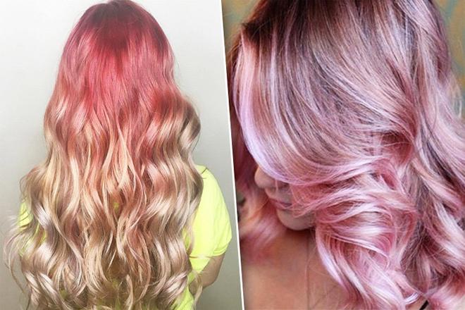 Рожевий блонд: ніжний тренд для сміливих модниць