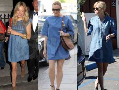 Модна новинка: джинсові сукні