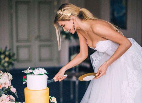 Співачка Вєра Брежнєва показала весільну сукню [ФОТО] [ВІДЕО]