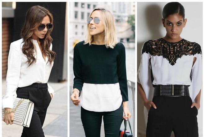 a56a6488fceab4 Як носити чорно-білий одяг та виглядати ефектно? | МіЛеді | Сайт про ...