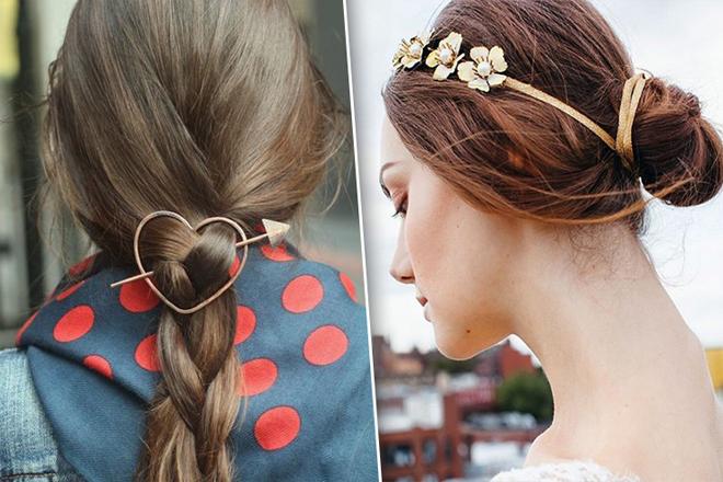Як прикрасити своє волосся за допомогою аксесуарів?