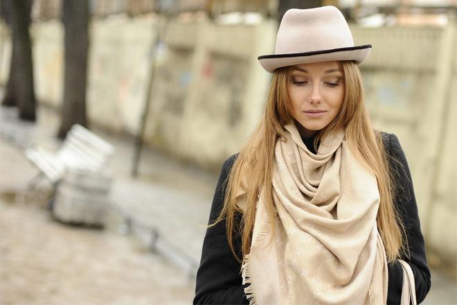 Як стильно зав'язати шарф?