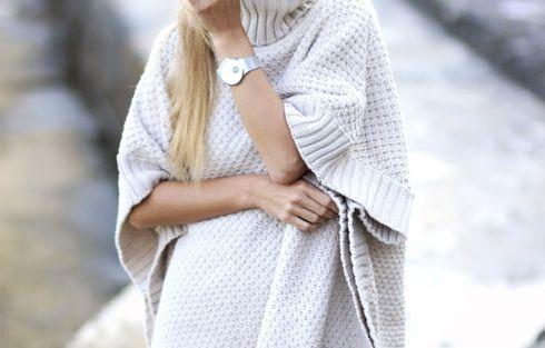 Сукня-светр: з чим носити?