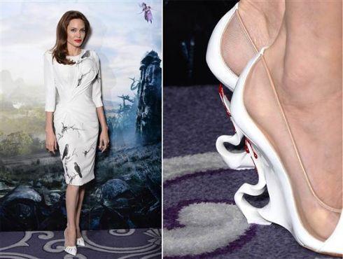 Эксклюзивные туфли для Анджелины Джоли от Christian Louboutin теперь в продаже