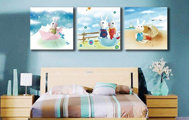 Картины в детской комнате