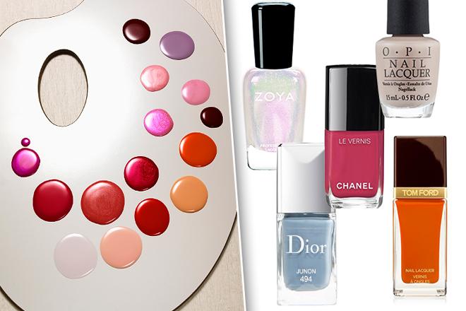 Які кольори лаку для нігтів в моді цього сезону?