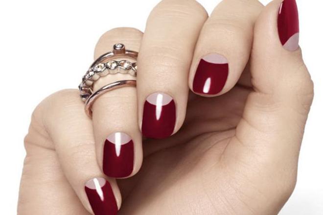 Стильний манікюр: круті ідеї із червоними відтінками