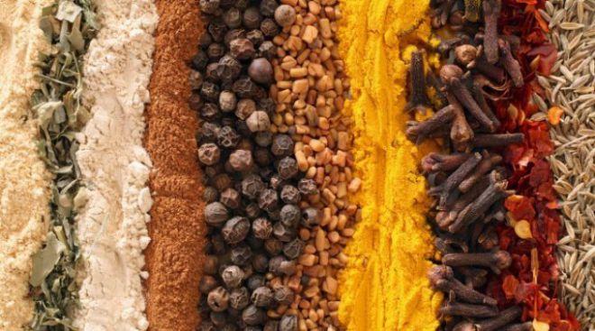 Поєднання спецій з продуктами, і їх користь для здоров'я
