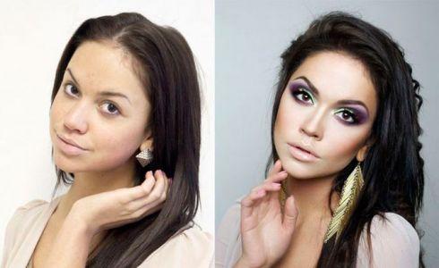 Маленькие хитрости макияжа