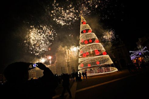 Як прикрашені міста світу на Різдво: кращі фото в Instagram