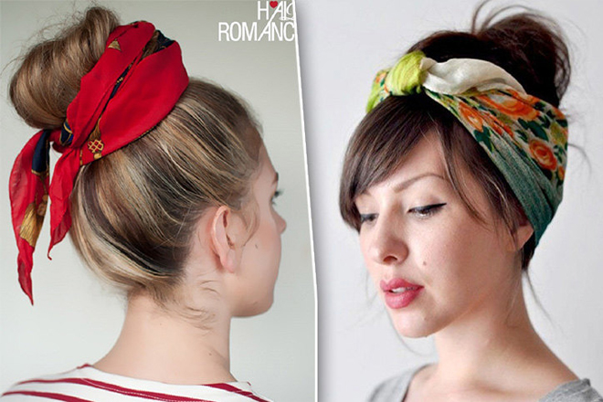 5 порад, як носити зачіски з хустинкою