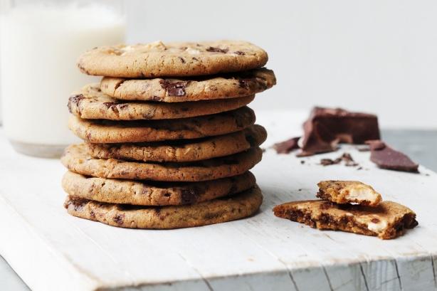 Печиво зі шоколадом за 5 хвилин