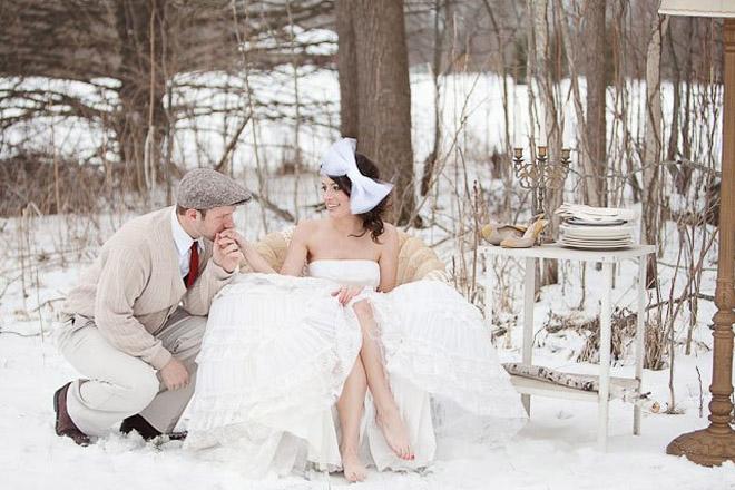Весілля взимку: 5 ідей для святкування