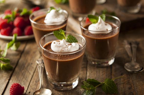 Дієтичний шоколадний мус: десерт для тих, хто на дієті