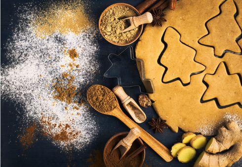 Рецепт святкового імбирного печива