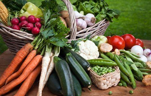 Кольорова дієта: зелені продукти