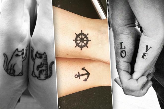 Круті ідеї для парних татуювань [ФОТО]