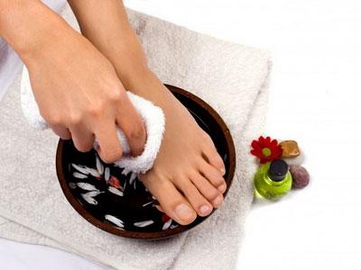 Лікування грибка ніг харчовими продуктами