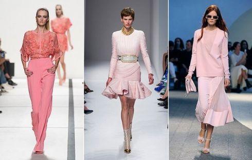 Тренд сезона: бледно-розовый