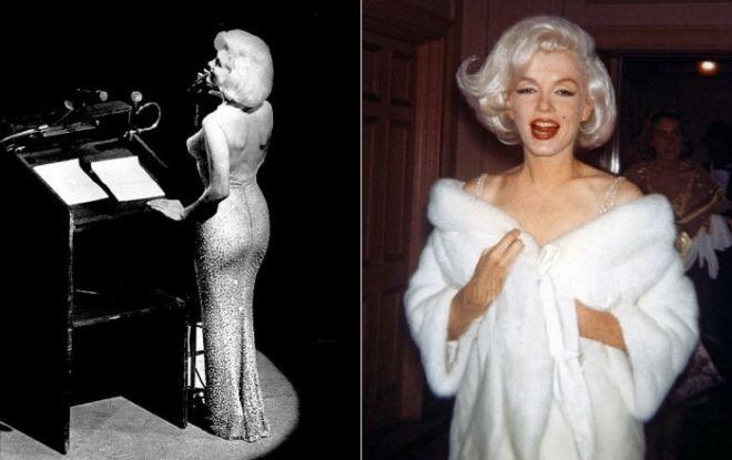 Легендарну сукню Монро було продано на аукціоні за чималу суму